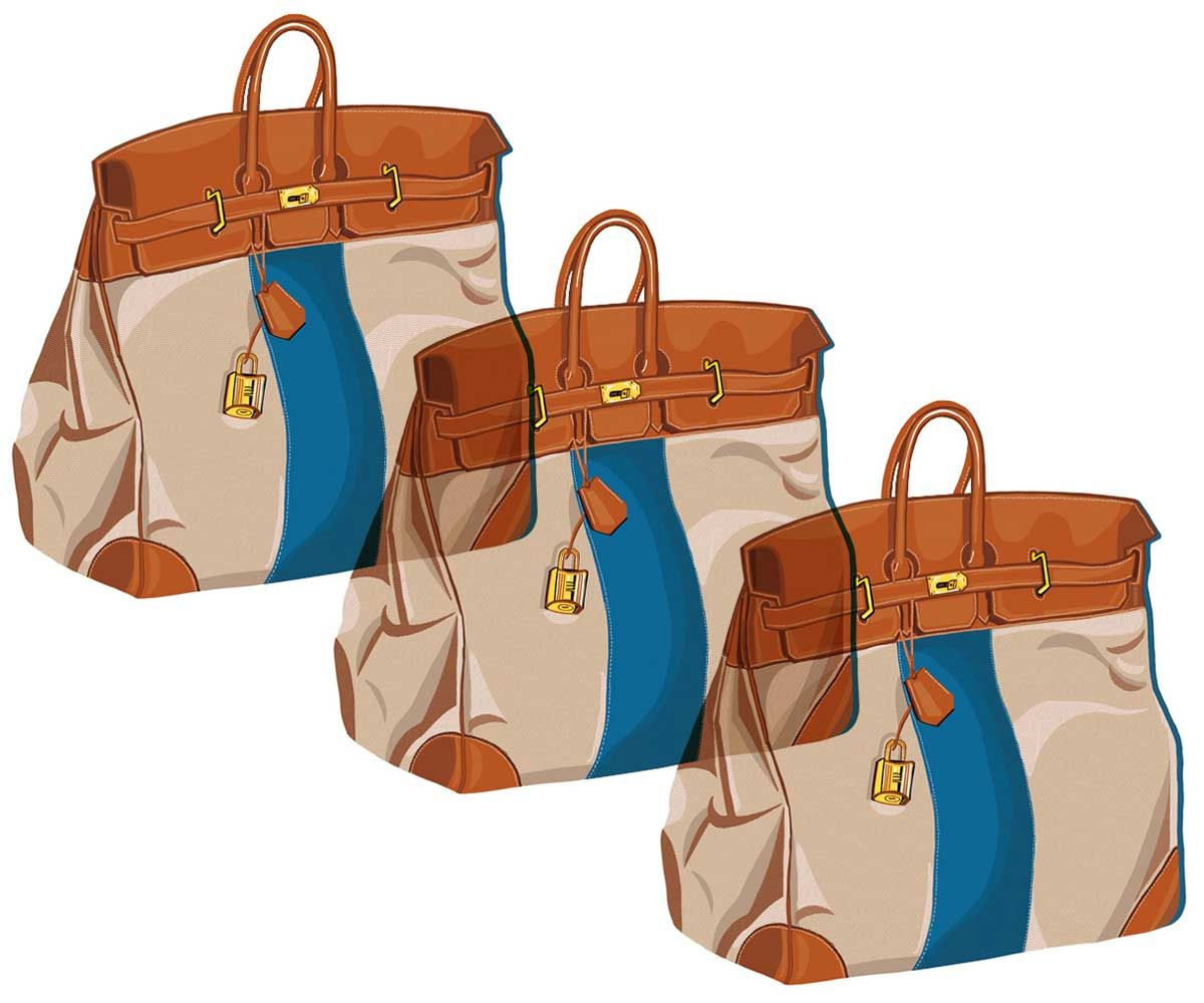 A bag that needs no introduction, the Haut À Courroies is ...