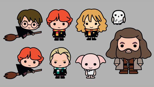 Personagens De Harry Potter Ganham Adoravel Versao Kawaii O