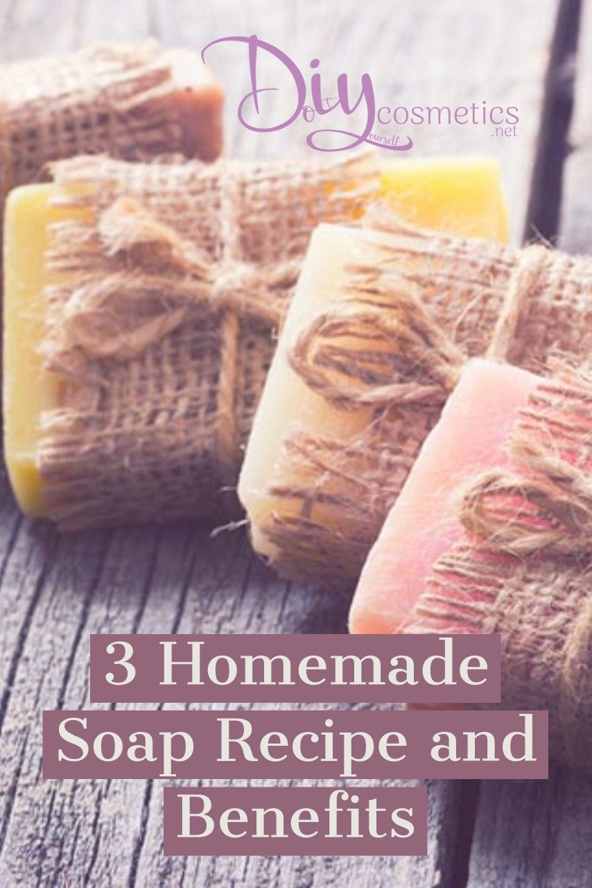3 Homemade Soap Recipe and Benefits Bay, Lavender and