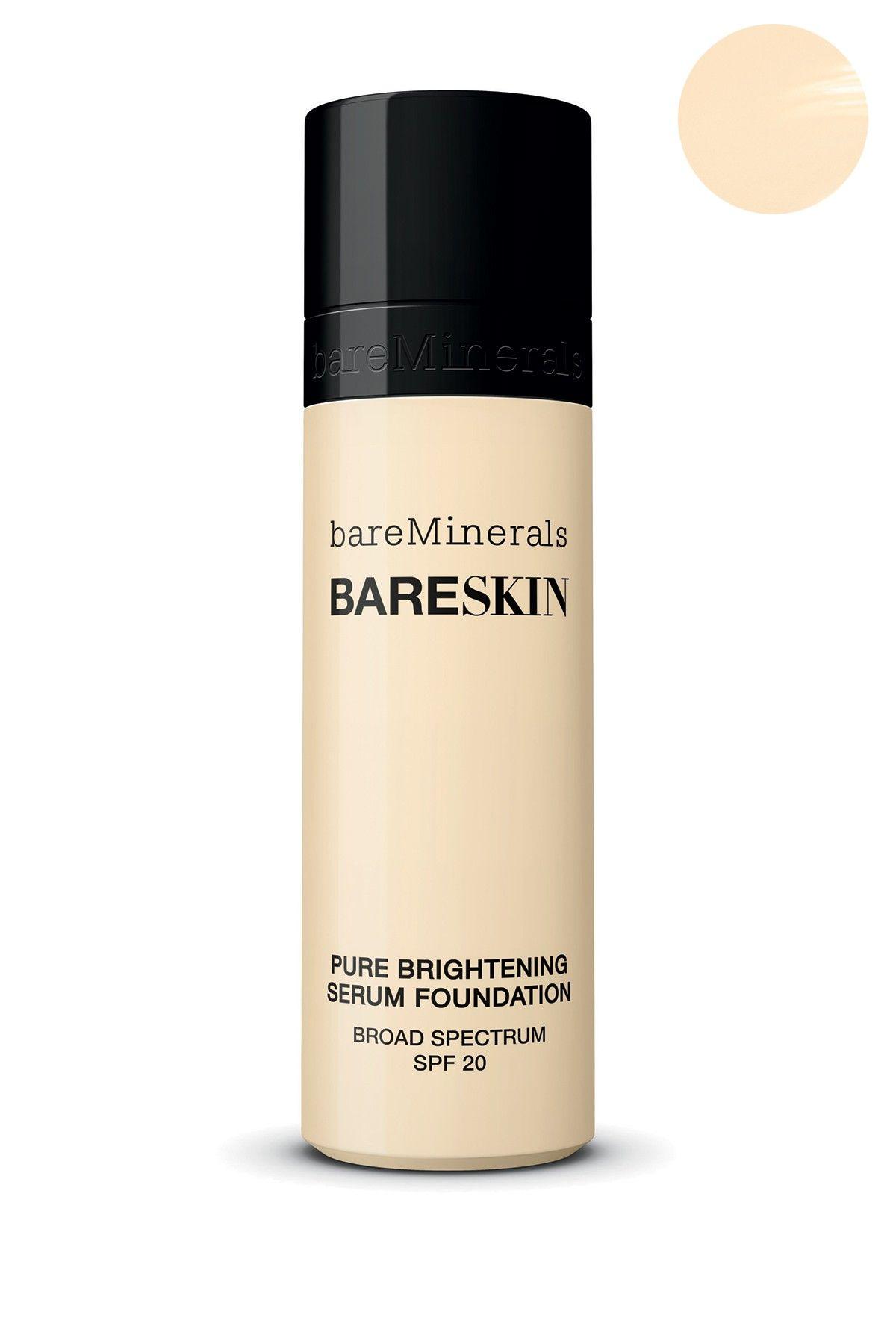 Bare Escentuals Bareskin Serum Foundation Spf 20 Porcelain Nordstrom Rack Bare Minerals Bare Skin Makeup Brushes Guide Bareminerals