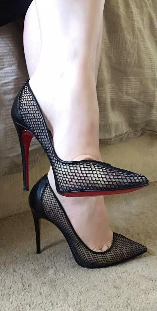 Shoes Temptation Woman Foto Tights Heels Stiletto