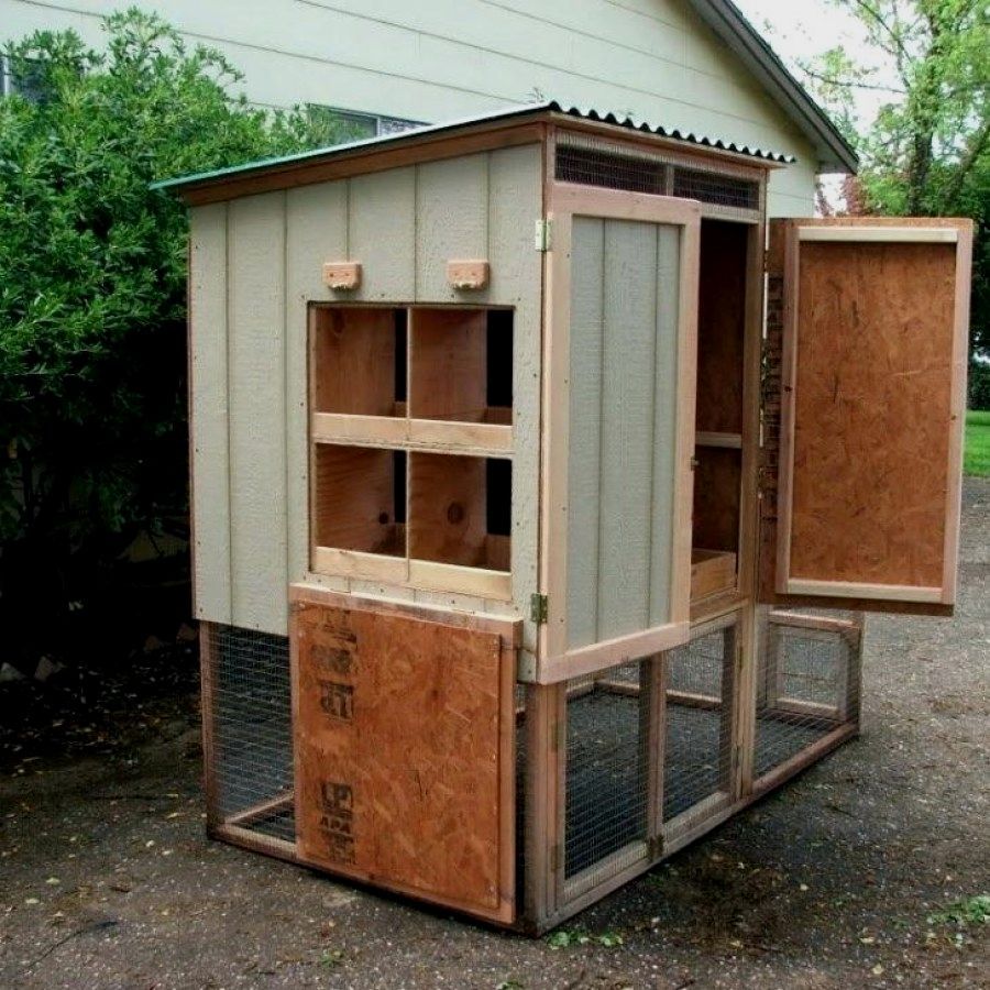 12 Easy Chicken Coop plans you can consider for your ...
