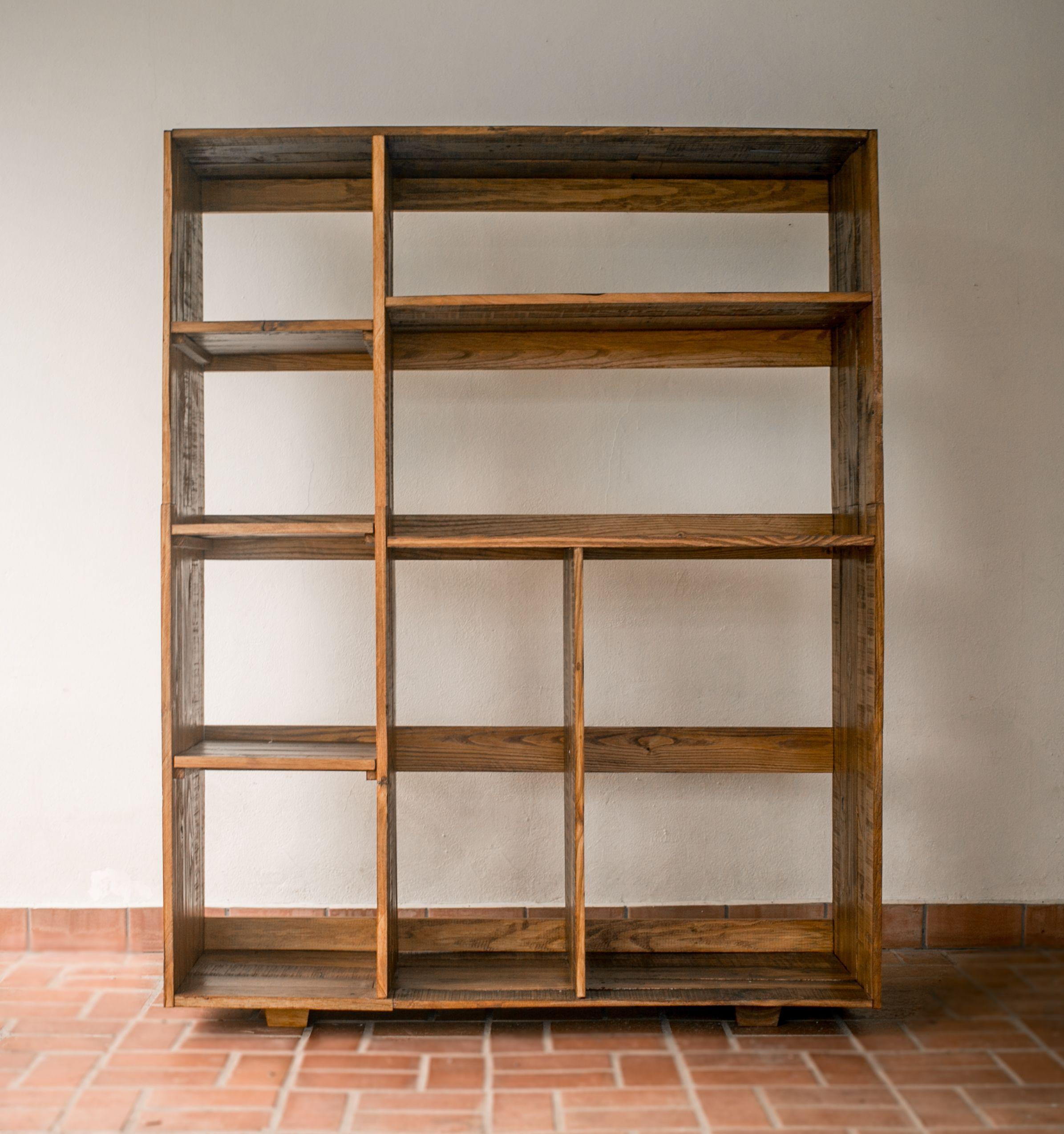 Pallet Furniture For Storage Mueble De Pallets Organizador By  # Muebles Novedosos