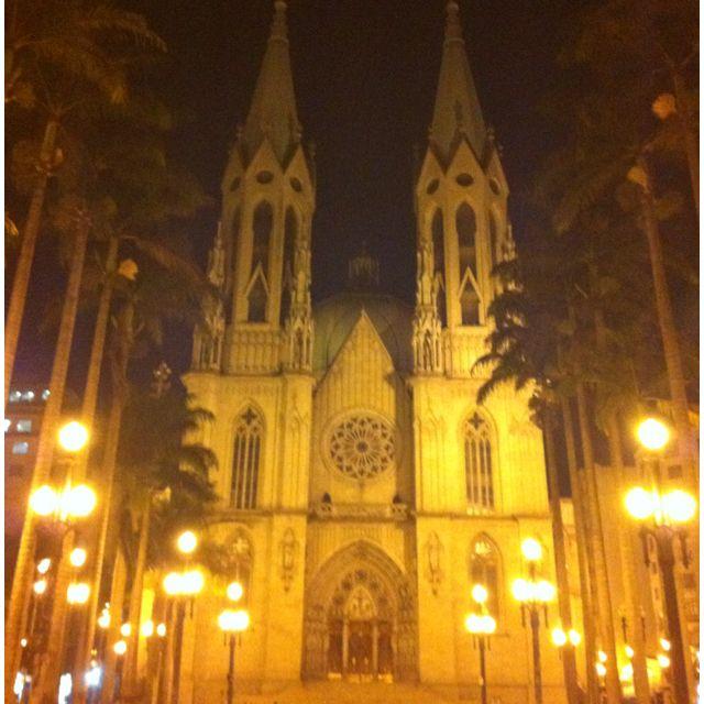 Sé Cathedral - São Paulo - Brazil! #Home