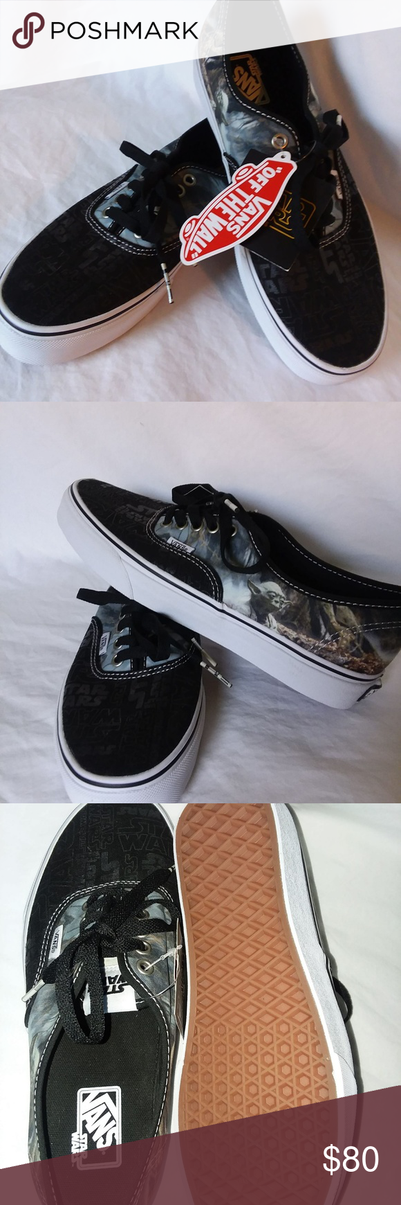 b78df507ad VAN s Star Wars Shoes Unisex Shoes Brand NEW VAN s Stars Wars Shoes Brand  NEW with Tags Unisex Shoes Womens Size 9.5 Mens Size 8 These are some  awesome ...