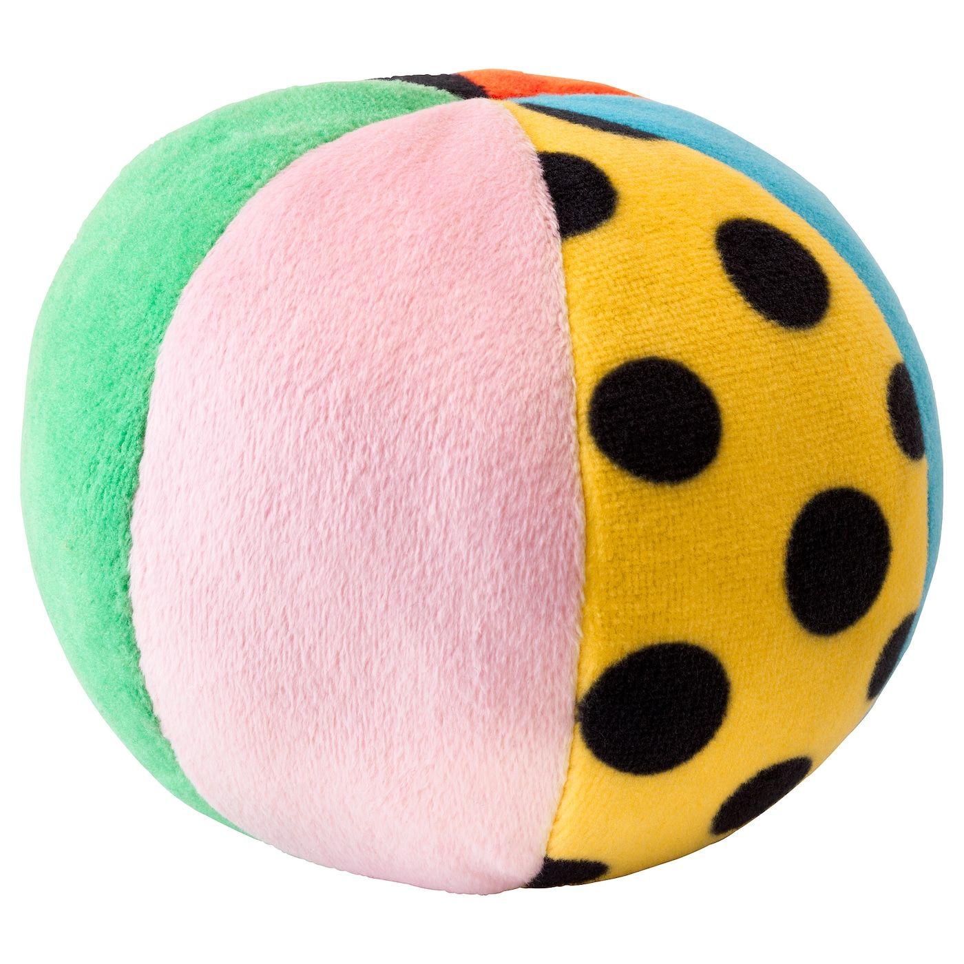 Klappa Stoffspielzeug Ball Bunt Ikea Osterreich In 2020 Soft Toy Ikea Baby Toys