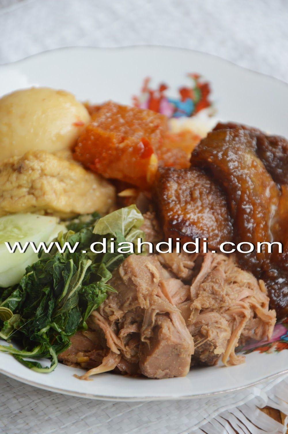 Diah Didi S Kitchen Gudeg Koyor Goreng Khas Semarangan Makan Malam Masakan Masakan Indonesia