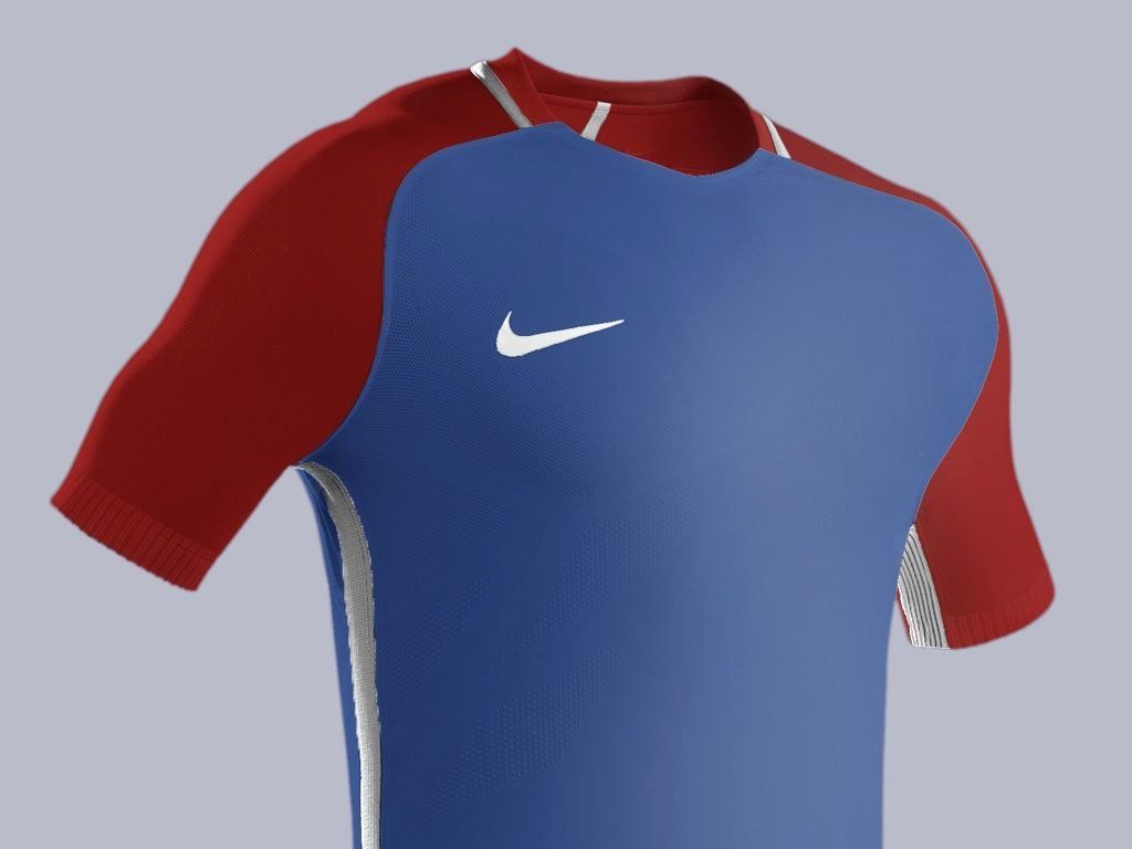 Download Nike Football Uniform Template Best Of Football Kit Mockup Psd Hd Template Full Editable Model Football Uniforms Nike Football Football Kits
