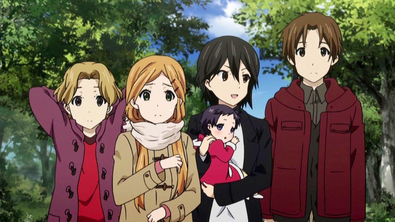 Kokoro Connect - They look like a family (^◇^;) | Kokoro connect ...