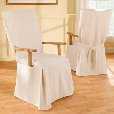 Attractive Might Be Able To Hack This For Wooden Rocking Chair. Sure Fit Cotton  Slipcover For Dining Chair With Arms