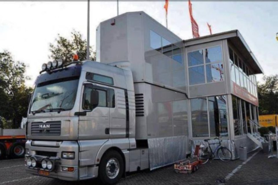 Mobile Home Luxury rv, Camping, Vintage trailers
