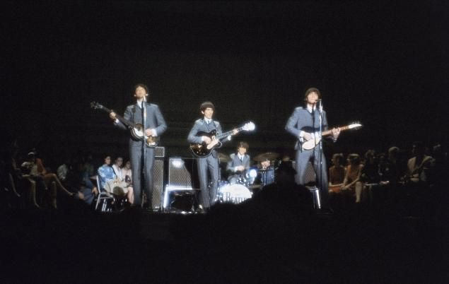 beatles carnegie hall 1964 | The Beatles rock out at Carnegie Hall in Feb. 12, 1964.