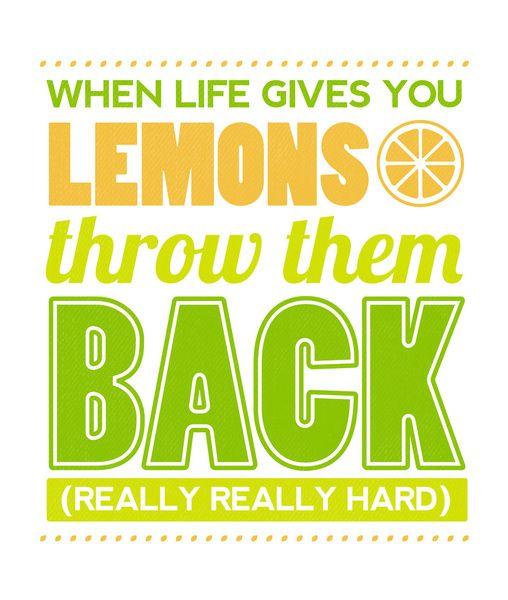 When Life Gives You Lemons by John Tibbott ART PRINT