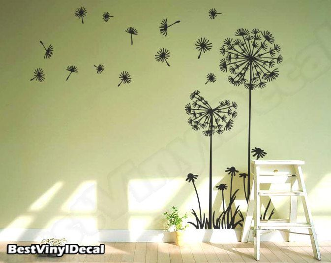 Vinyl Wall Decal Nature Design Tree Wall Decals Wall Stickers