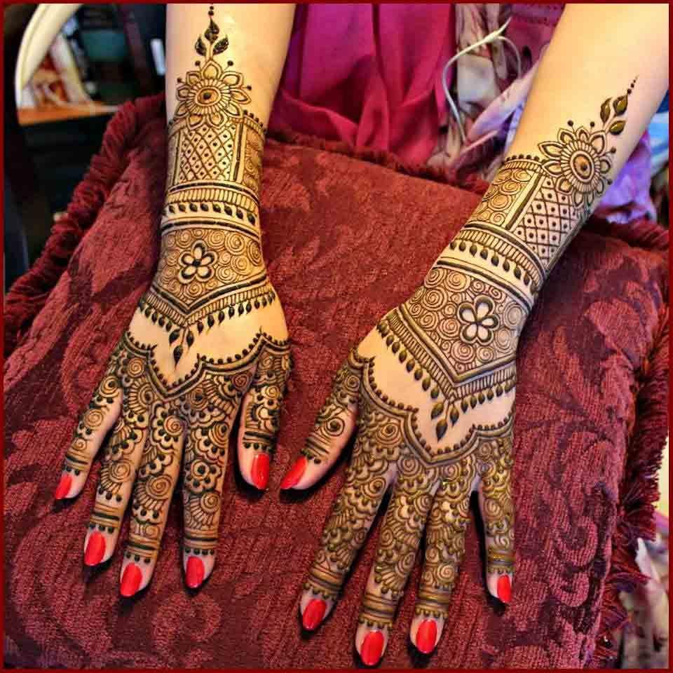 Mehndi design 2017 in pakistan - Latest Bridal Mehndi Designs 2017 2018 In India And Pakistan