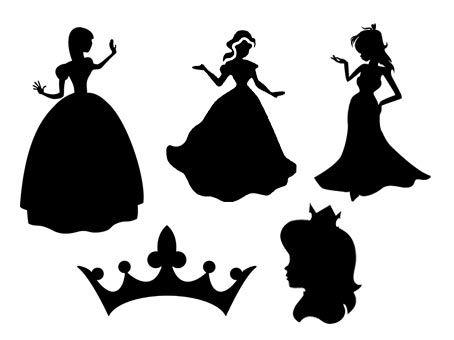 Princesses fichiers gratuits svg silhouette studio - Couronne princesse disney ...
