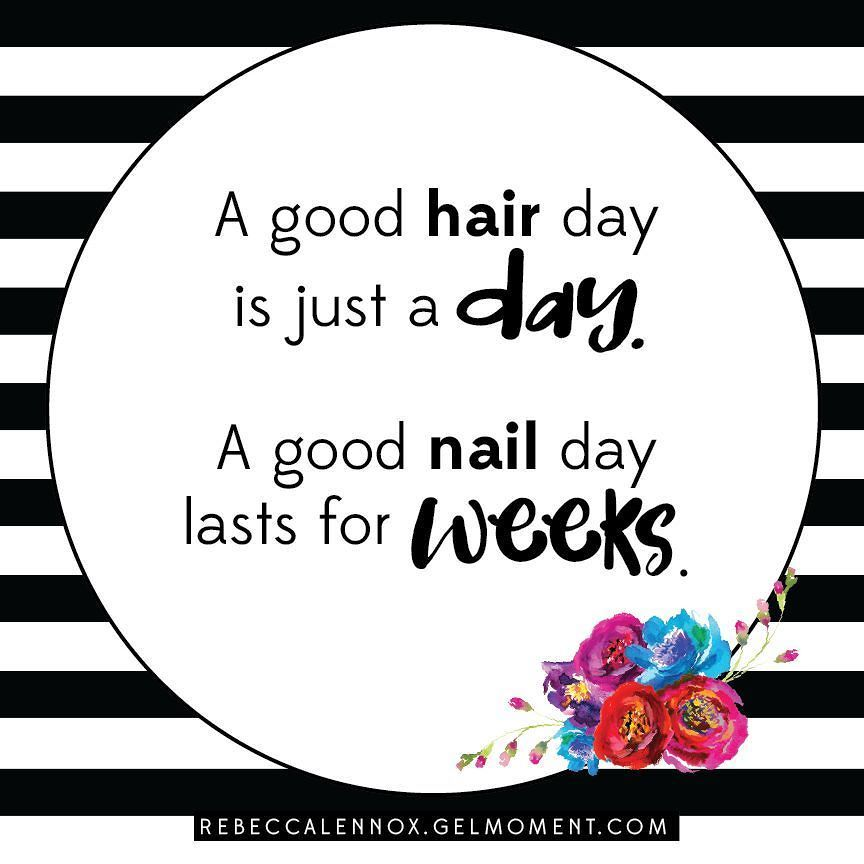 A good nail day lasts for weeks with GelMoment.