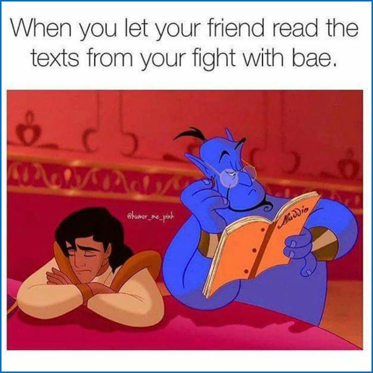 Photo of Genius was there to solve Aladdin's relationship problem? – #disney