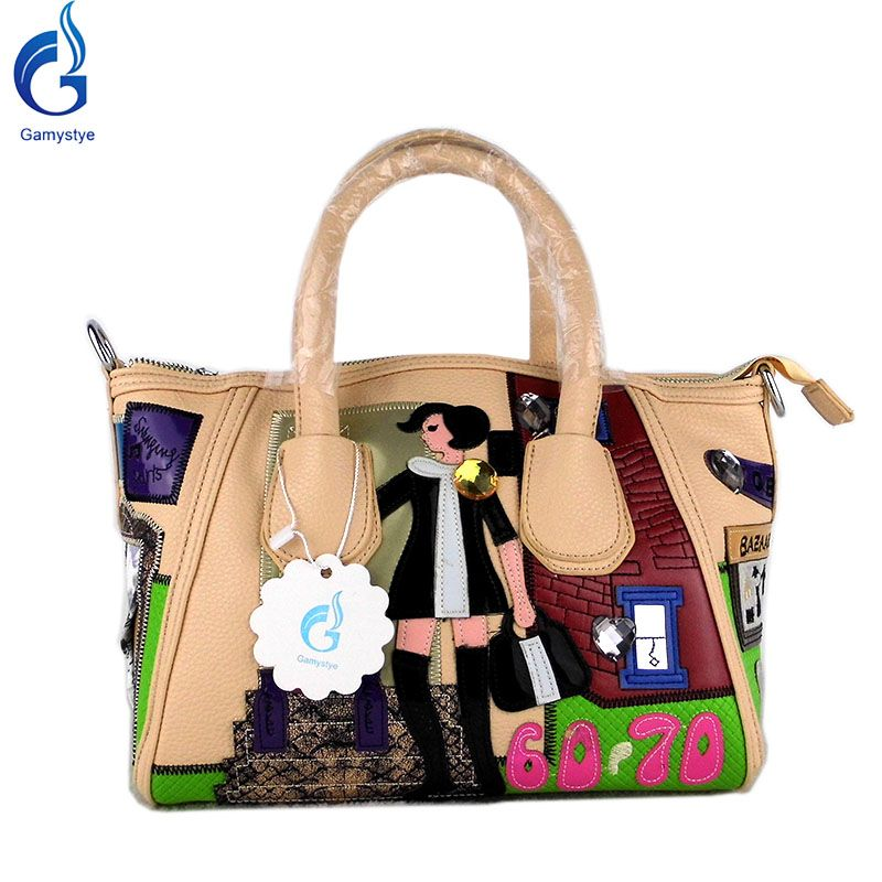 Cartoon Style Shoulder Bag Lovely Young Pu Cute Casual Handbag That S Just Superb Visit Us