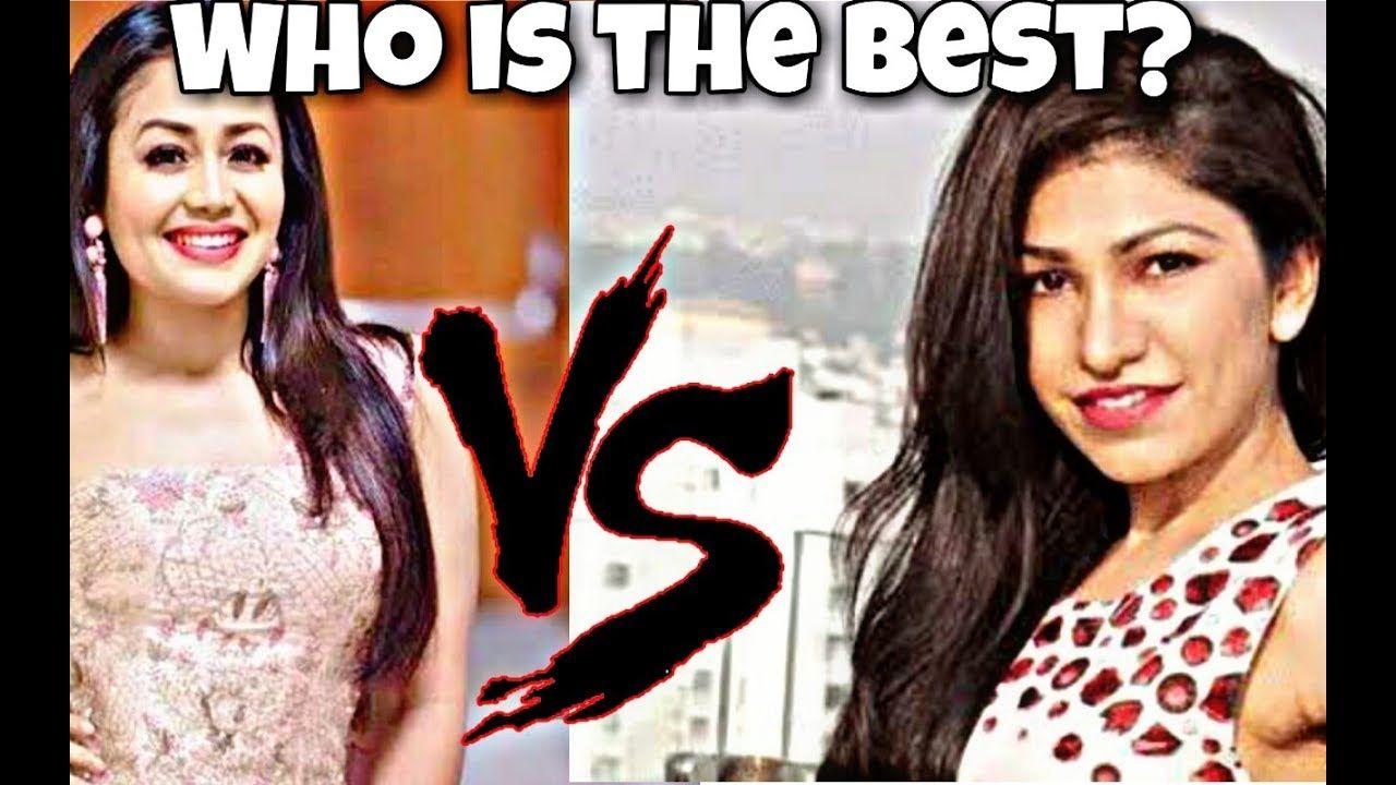 Neha Kakkar Vs Tulsi Kumar The Future Nightingale Of The Music Industry Music Industry Neha Kakkar Tulsi