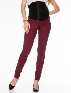 49d59571637e8 Motherhood Maternity Jessica Simpson Long Secret Fit Belly(r) Plain Weave  Denim 5 Pocket Skinny Leg Maternity Jeans