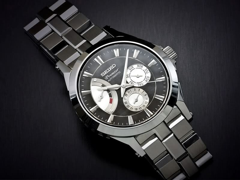 Seiko premier kinetic montres watches pinterest seiko and citizen eco for Movado kinetic