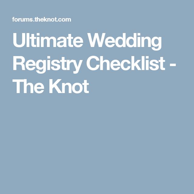 Ultimate Wedding Registry Checklist Wedding Registry Checklist Wedding Planning Checklist Ultimate Wedding Planning Checklist