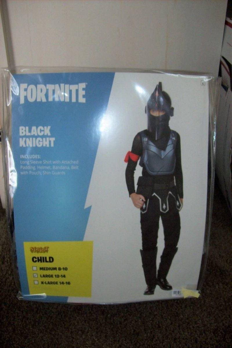 Fortnite Black Knight Spirit Halloween Costume Child Medium 810