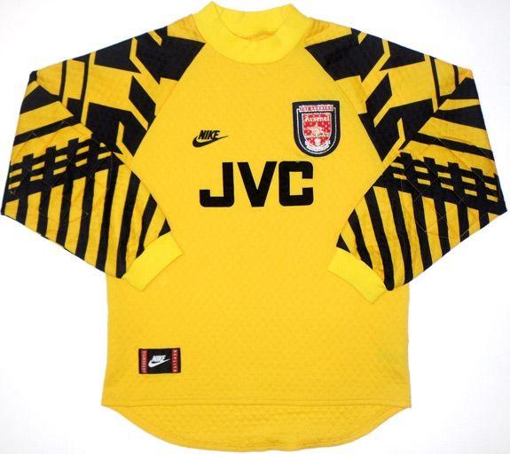 abeaecb252b Arsenal Goalkeeper 1995-97 | Goalkeeper shirts | Vintage football ...