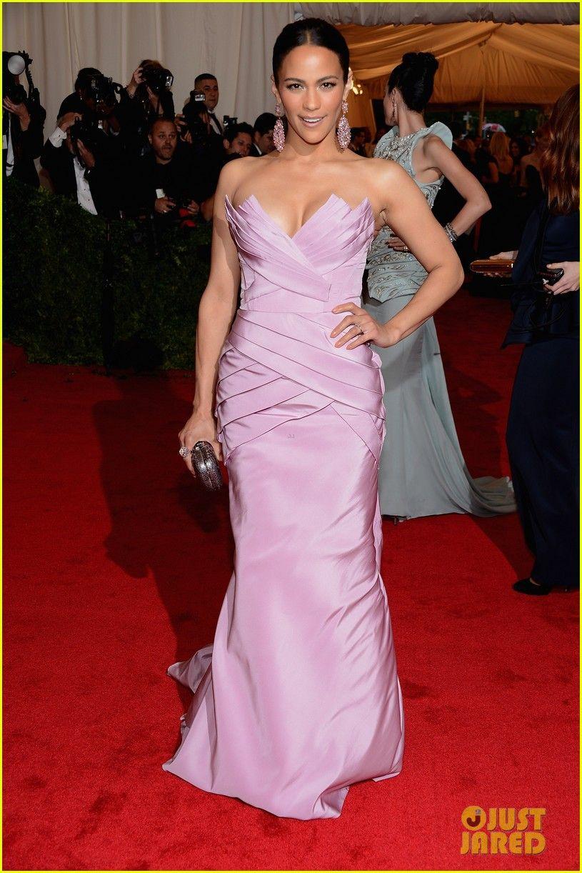 Paula Patton #MetBall2012 | Beautiful women and looks I love | Pinterest