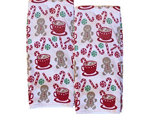 Christmas Treats Plush 2 Pack Kitchen Towels Storehouse Https Www Amazon Com Dp B01nayu9tz Ref Cm Sw R Pi Dp Kitchen Towels Christmas Treats Kitchen And Bath