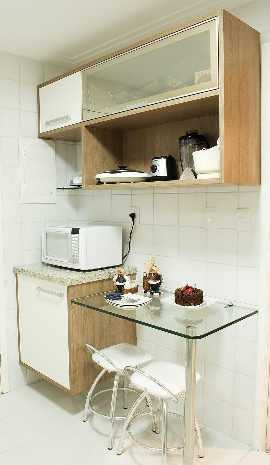 Mesa. Praticidade em modulados. | Cocinas | Pinterest | Cocinas ...
