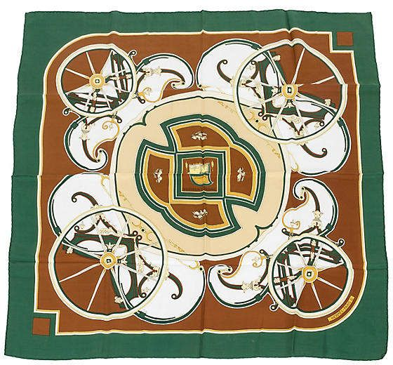 Photo of Hermès Washington's Carriage Silk Scarf – Scarves – Hats, Scarves & Gloves – Bags & Accessories – Gifts & Accessories – Decor