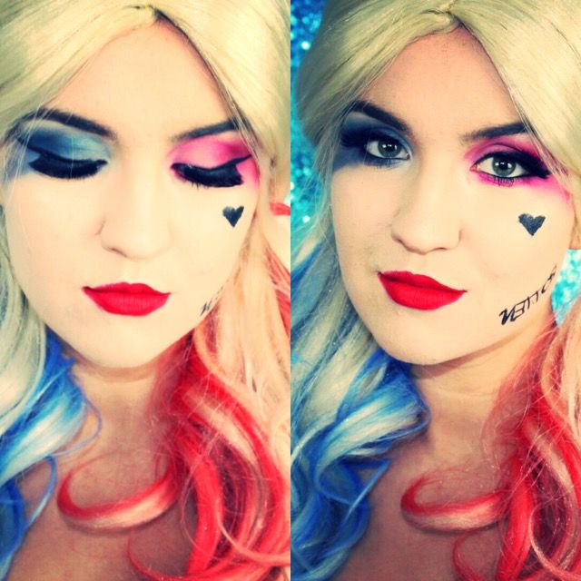 Diy Fashion Beauty Youtube: Harley Quinn Makeup Tutorial YouTube: Beauty Obsessed