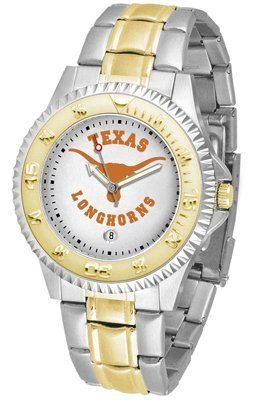 Texas Longhorns - University Of Competitor - Two-tone Band - Men's - Men's College Watches by Sports Memorabilia. $87.08. Makes a Great Gift!. Texas Longhorns - University Of Competitor - Two-tone Band - Men's