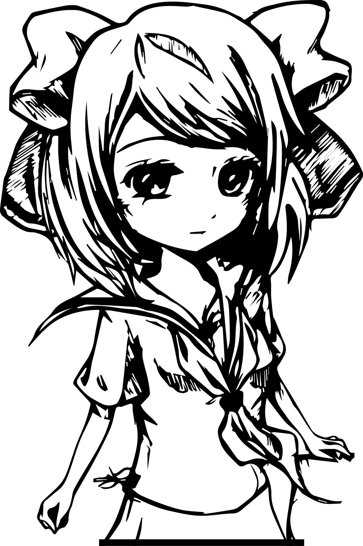 Hd Best Cute Anime Kitten Coloring Pages Mcoloring Anime Kitten Anime Kitten
