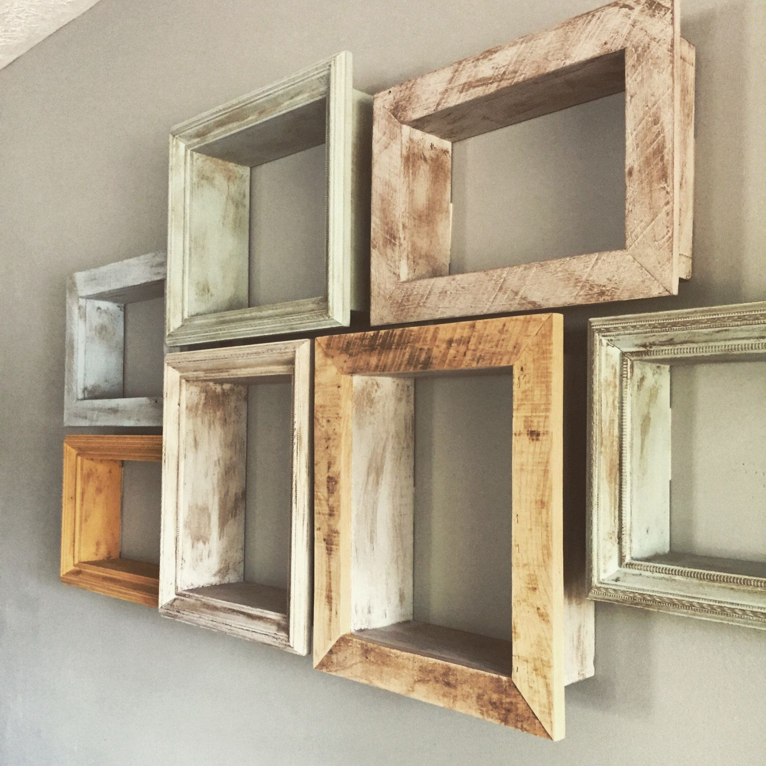 Distressed Shadow Box Shelf By Knoxwoodcreations On Etsy Https