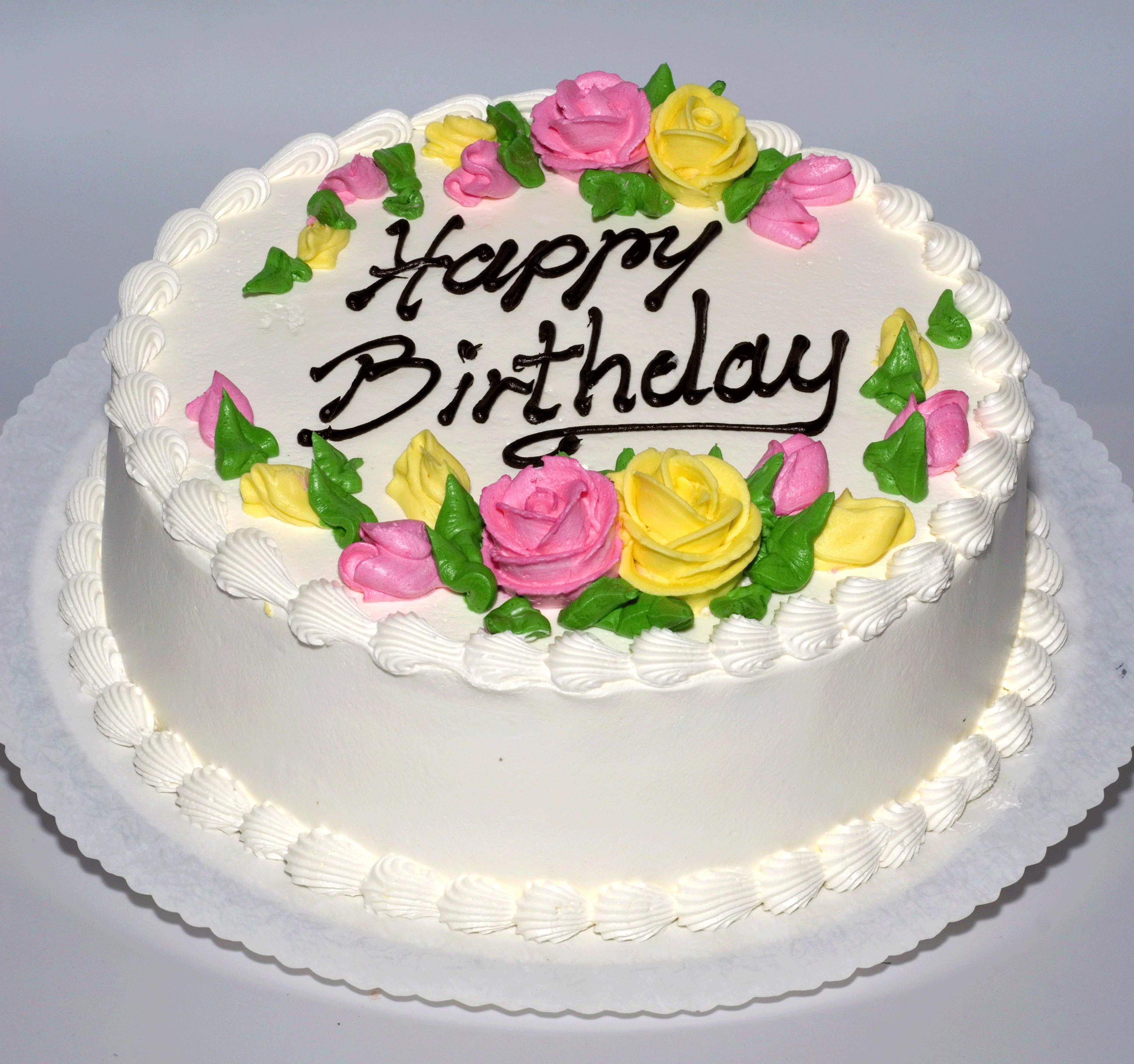 Birthday Pastry Cake Images Download : Birthday cake with sugar flowers from Zomick s bakery in ...