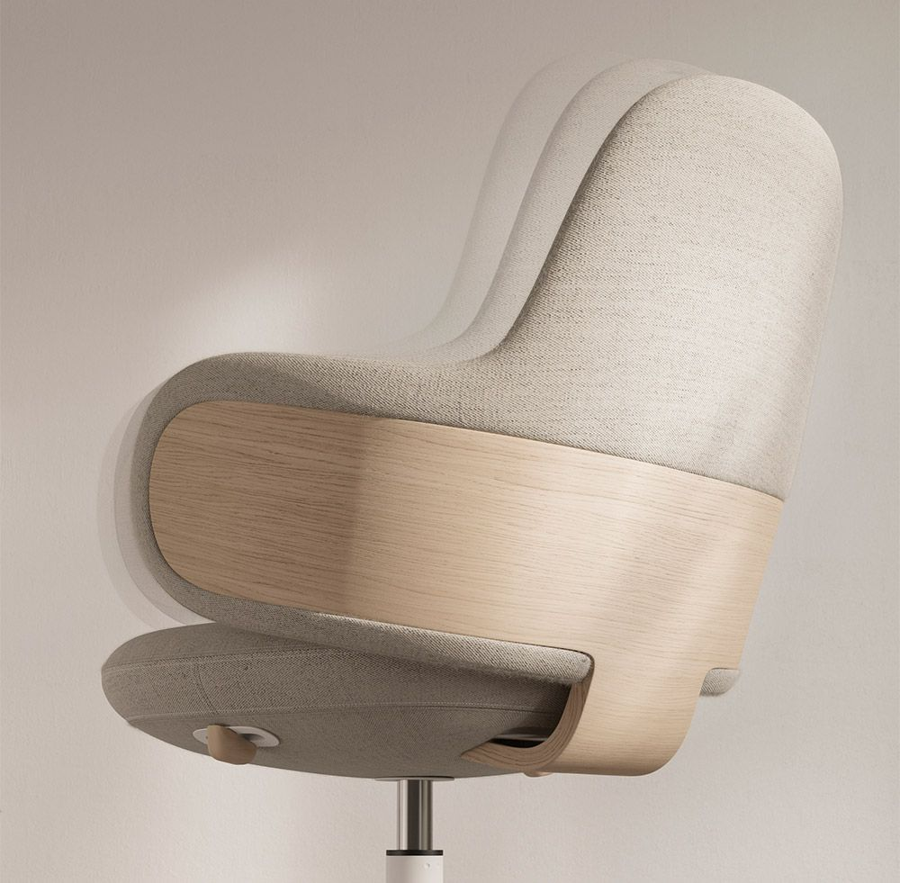 Lan Iratzoki Lizaso Design Studio In 2020 Desk Chair Office Chair Design Office Chair
