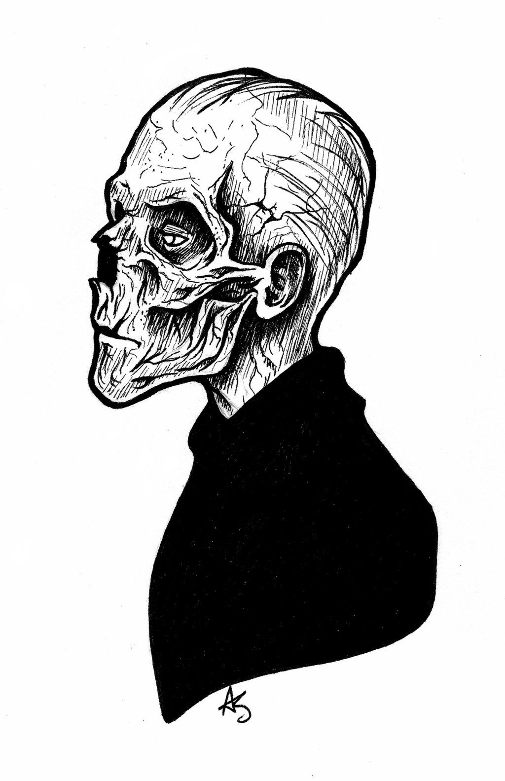 Death's Head by bananaboo2.deviantart.com on @DeviantArt