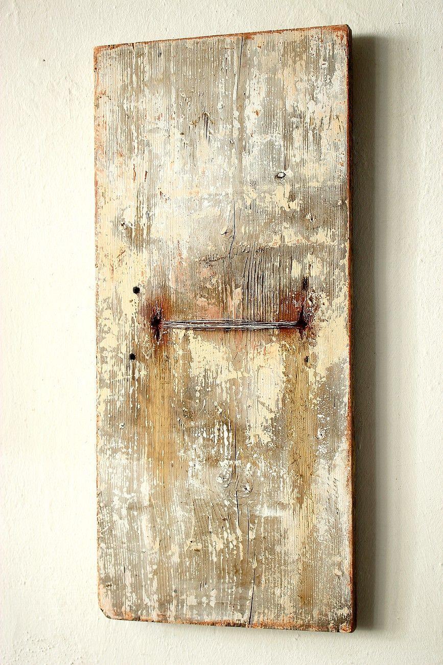 Beliebt 201 7 - 60 x 22 x 2.8 cm - Acryl , Kupferdr aht auf Holz HN17