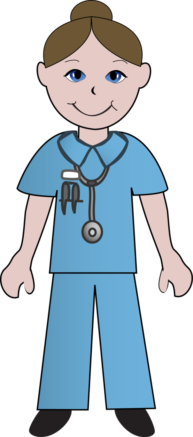 cute clip art of doctors and nurses free clipart images clipart rh pinterest com Doctor Drawing Female Doctor Drawing