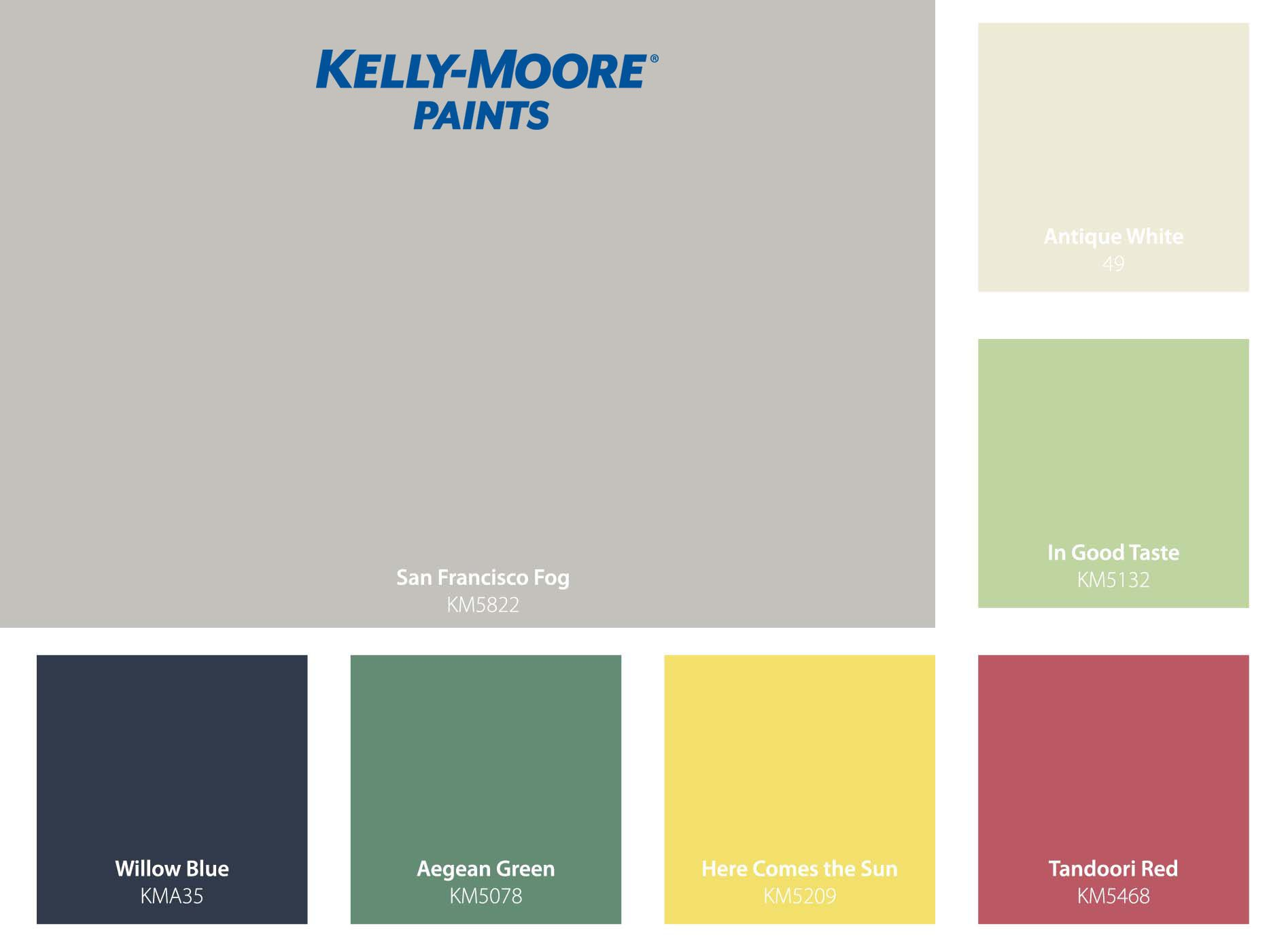 sunset s favorite spring colors kelly moore paints on kelly moore paint colors chart id=31303