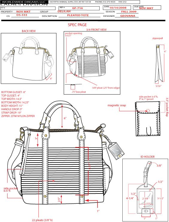 TECHNICAL SKETCHES - PAULA BONNAFANT | bags | Pinterest | Taschen ...