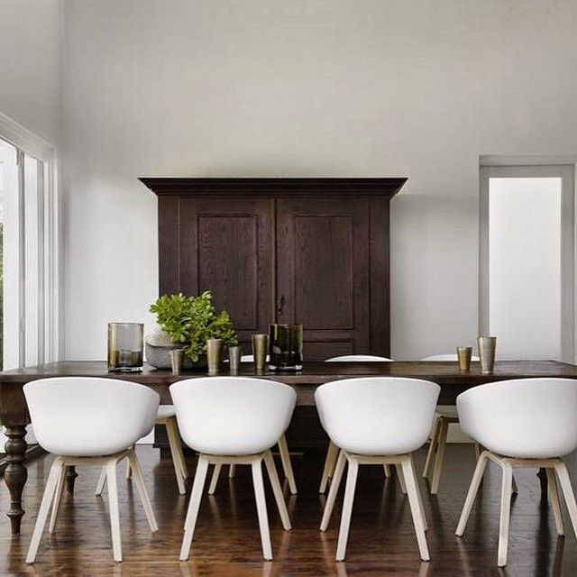 Happy with this one #interiors #simple #modern #old #new_with_old #challenge  #dining #scandi #traditional