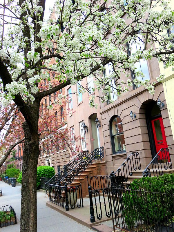 Brownstone Apartments West 22nd Street In Chelsea New York City Chelsea New York New York City Apartment Nyc Townhouse