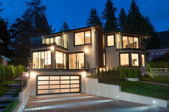Luxury Real Estate In North Vancouver District Canada   Architecturally  Stunning Luxury Home   JamesEdition