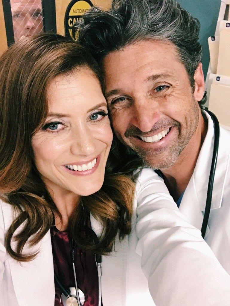 Kate Walsh Patrick Dempsey Greys Anatomy 1 In 2019 Kate
