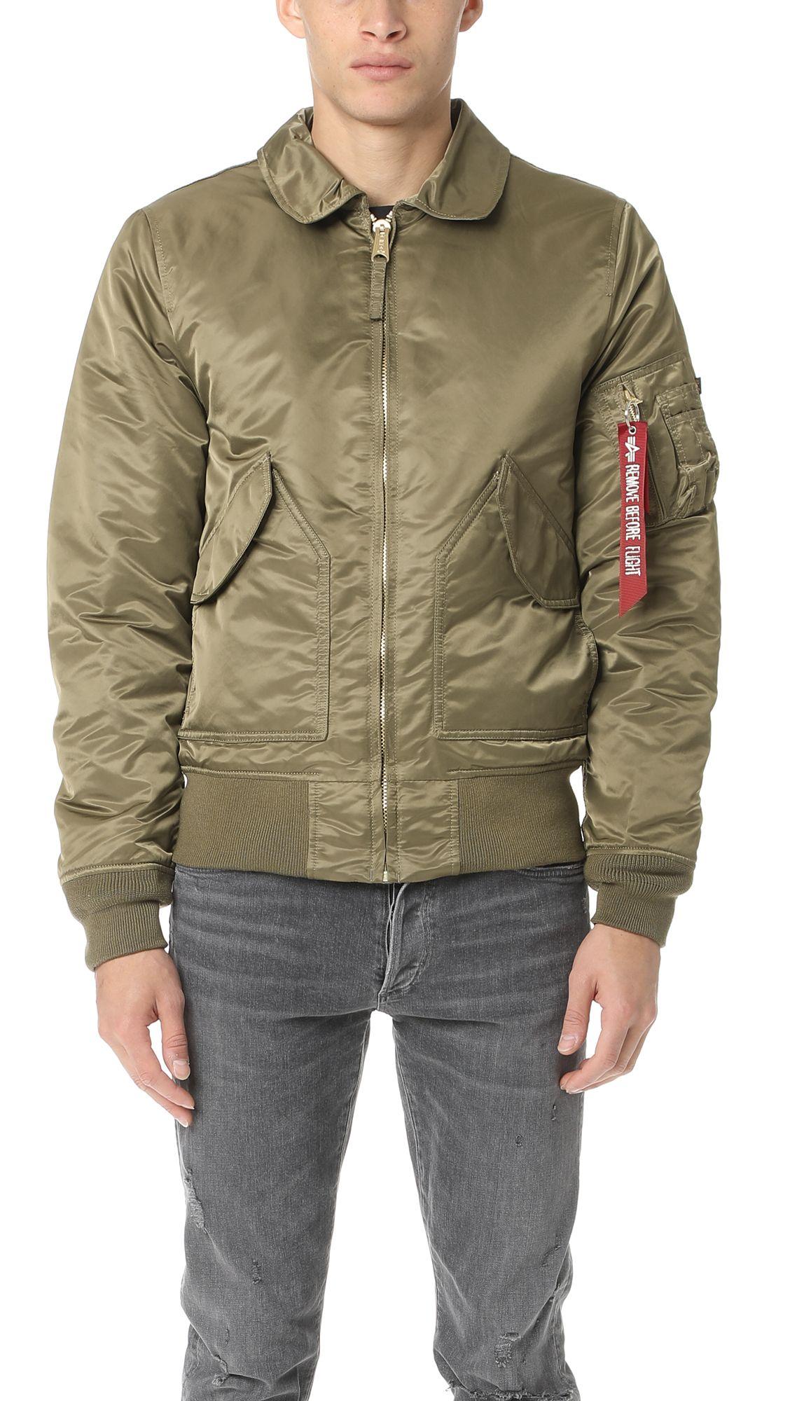 ALPHA INDUSTRIES Cwu 45/P Slim Fit Jacket. #alphaindustries #cloth #jacket