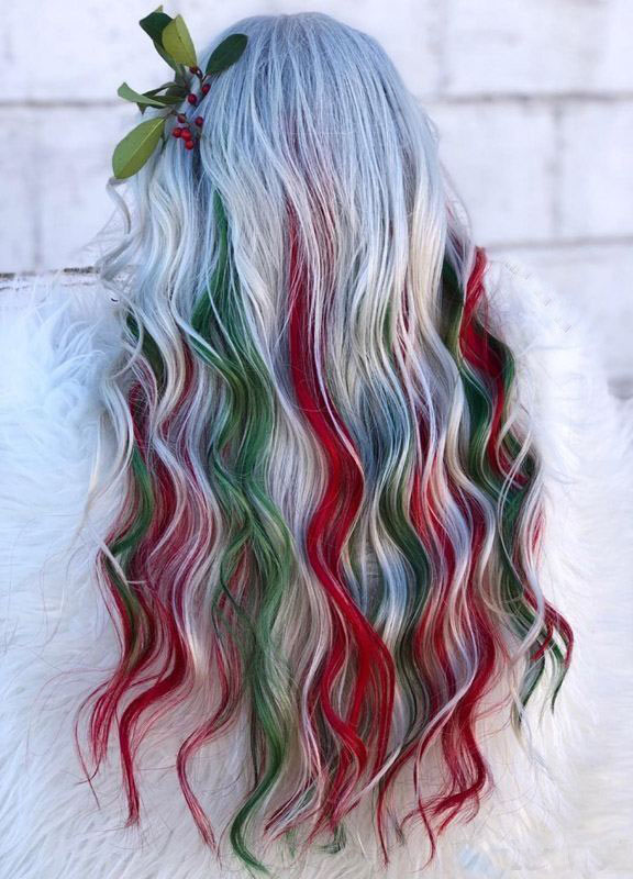 32 Easy Ways To Style Christmas Hair Ideas For Girls And Women 2019 - Page 5 of 32 - Veguci